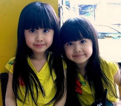 台湾最美双胞胎长大后完全更美了还记得她们吗
